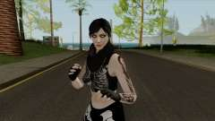 Female GTA Online Halloween Skin 2 for GTA San Andreas