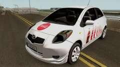 Toyota Yaris Coca-Cola 2008 for GTA San Andreas