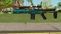 Rainbow Sniper Rifle for GTA San Andreas