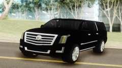 Cadillac Escalade Black for GTA San Andreas