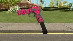 GTA Online Gunrunning Pistol MK.II Pink Skull for GTA San Andreas