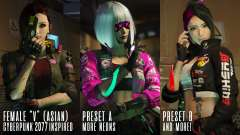 Cyberpunk Custom Female Ped for GTA 5