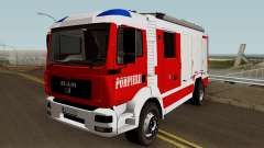 MAN TGA Pompierii (Romanian Firetruck) 2010