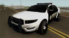 Ford Taurus Sheriff (Interceptor style) 2012 for GTA San Andreas