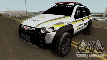 Fiat Palio Weekend Brazilian Police (Patamo) for GTA San Andreas
