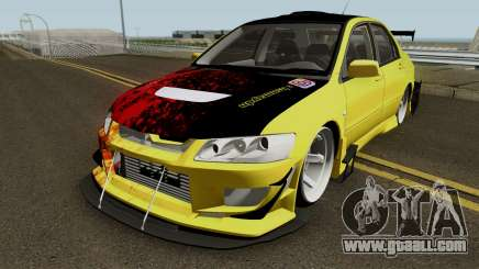 Mitsubishi Lancer Driftz EVO for GTA San Andreas