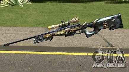 AWM Infernal Dragon for GTA San Andreas