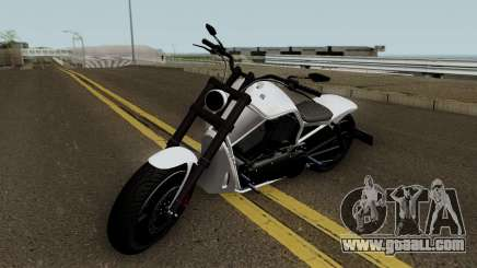 Western Motorcycle Nightblade GTA V HQ for GTA San Andreas