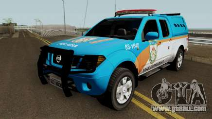 Nissan Frontier PMERJ BPVE 2013 for GTA San Andreas