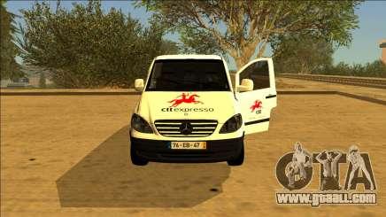 Mercedes Vito CTT - Portuguese Mail Van for GTA San Andreas