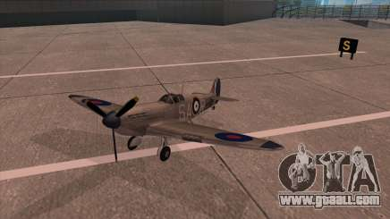 Rustler - Spitfire MK1 for GTA San Andreas