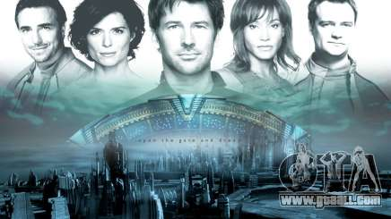 Boot screen Stargate: Atlantis for GTA San Andreas