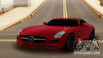Mercedes-Benz SLS AMG Roadster for GTA San Andreas