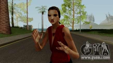 PS2 LCS Cheryl for GTA San Andreas