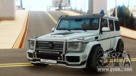 Mercedes-Benz G65 AMG Tuning for GTA San Andreas