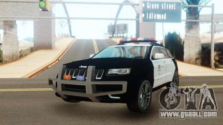 Jeep Grand Cherokee Police Edition for GTA San Andreas