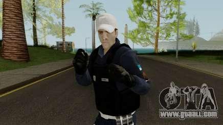 Brazilian Police Skin 2 for GTA San Andreas