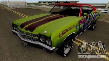 Chevrolet Chevelle SS Burgershot 1970 for GTA San Andreas