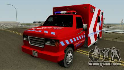 Ambulance: Mission Row San Andreas for GTA San Andreas