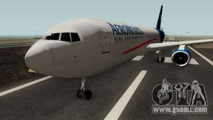 Boeing 767-300 Aeromexico for GTA San Andreas