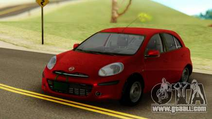 Nissan Micra ELLE for GTA San Andreas