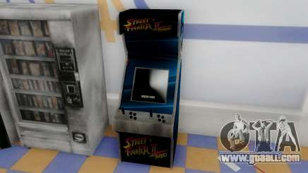 Fighting Arcade Cabinets for GTA San Andreas