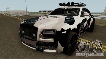 Jon Olsson Rolls Royce Wraith for GTA San Andreas