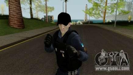Brazilian Police Skin 1 for GTA San Andreas
