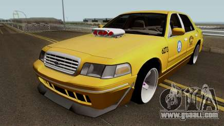 Ford Crown Victoria New York Taxi (Taxi Movie) for GTA San Andreas