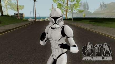 Clone Trooper (Star Wars The Clone Wars) for GTA San Andreas
