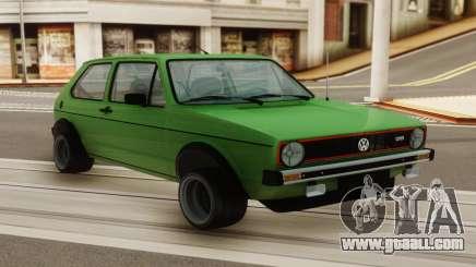 Volkswagen GTI for GTA San Andreas