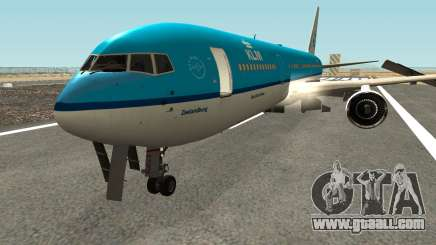 Boeing 767-300 KLM Livery for GTA San Andreas