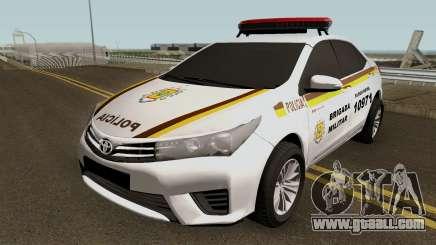 Toyota Corolla Brazilian Police (Patamo) for GTA San Andreas