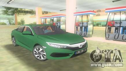 Honda Civic FC5 for GTA Vice City