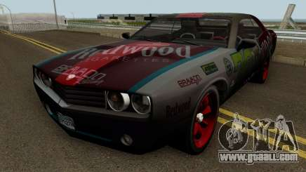 Dodge Challenger SRT Redwood (Gauntlet) 2012 for GTA San Andreas