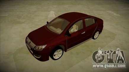 Chery A3 Sedan 2013 V2 for GTA San Andreas