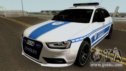 Audi A4 Avant Serbian Police for GTA San Andreas