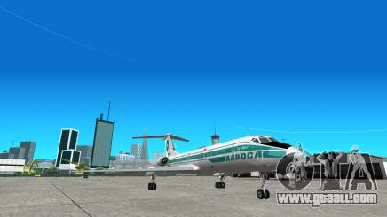 TU-134 ALROSA for GTA San Andreas