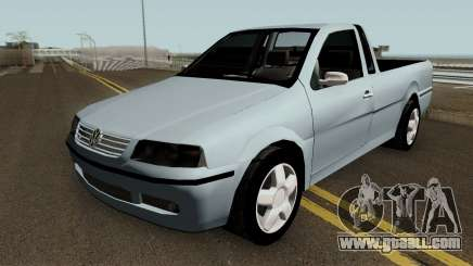 Volkswagen Saveiro Edit for GTA San Andreas
