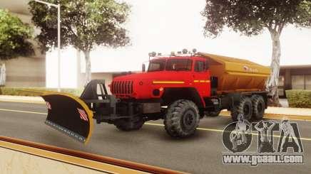 Ural 55571-1121-72Е5 for GTA San Andreas