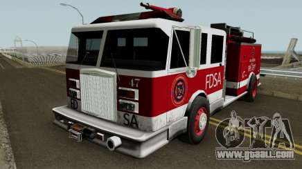Firetruck Remastered for GTA San Andreas