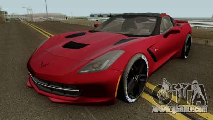 Chevrolet Corvette Z51 C7 2014 for GTA San Andreas