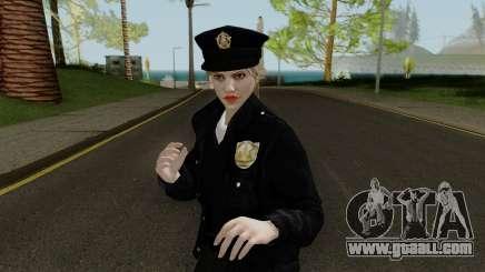GTA Online Random Skin 10 LSPD Metro Officer for GTA San Andreas
