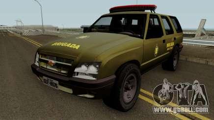 Chevrolet Blazer 2010 Brazilian Police for GTA San Andreas
