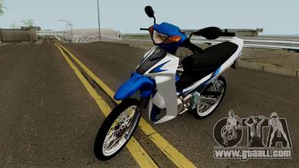 Yamaha 125z STD Version for GTA San Andreas