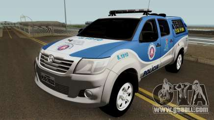 Toyota Hilux PETO CIA Jequie for GTA San Andreas
