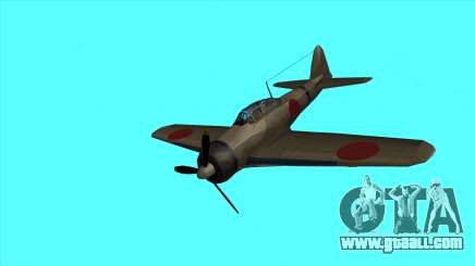 Rustler - A6M Zero for GTA San Andreas