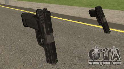COD-MWR USP45 Stock for GTA San Andreas