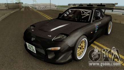 Mazda RX-7 FD3s Touge Warior - Black Brother for GTA San Andreas