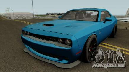 Dodge Challenger SRT Hellcat 2015 HQ for GTA San Andreas